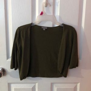 Ann Taylor Olive Green Sweater